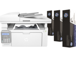 МФУ HP LaserJet Ultra MFP M134fn Printer (A4)
