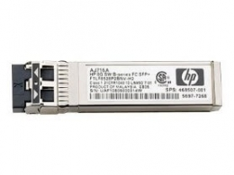 OEM Трансивер HP 8 Гб Shortwave B-series Fibre Channel 1 Pack SFP+